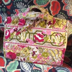 Vera Bradley cosmetics storage bag
